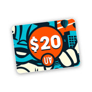 gift card $20 voucher urban attitude