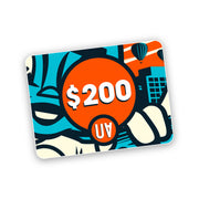 gift card $200 voucher urban attitude