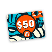 gift card $50 voucher urban attitude