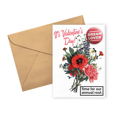 greeting card valentines root urban attitude