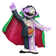 mighty jaxx dissectibles sesame street blind box the count urban attitude