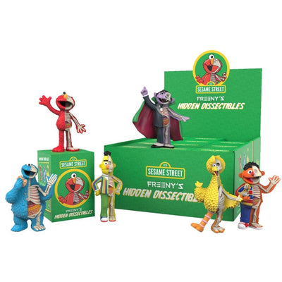 mighty jaxx dissectibles sesame street blind box urban attitude
