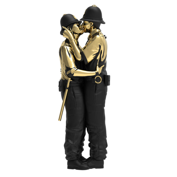mighty jaxx kissing coppers by brandalised gold rush edition main urban attitude