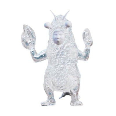 mighty jaxx super kaiju figure tempura san clear edition urban attitude