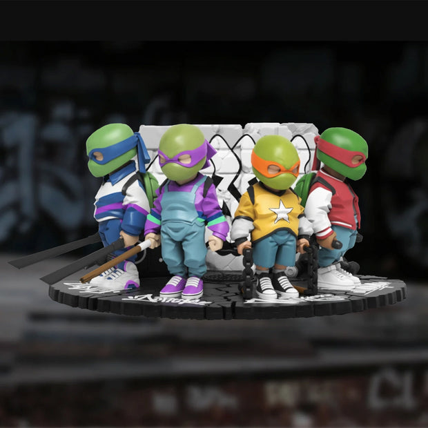 mighty jaxx tmnt by danil yad background urban attitude