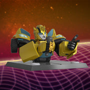 mighty jaxx transformers quiccs bumblebee background urban attitude
