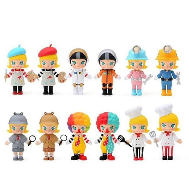 Pop Mart x Kennyswork Molly Blind Box Career Series 2