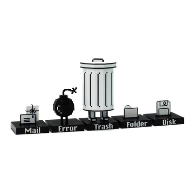 Playsometoys Trashbot and Friends Playset Urban Attitude