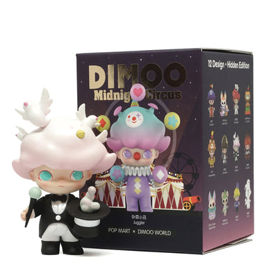 pop mart blind box dimoo midnight circus urban attitude