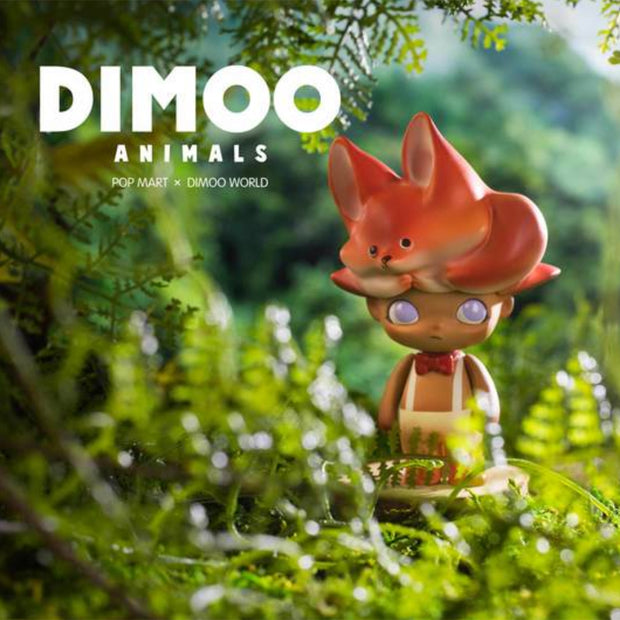 pop mart blind box dimoo stray animals urban attitude