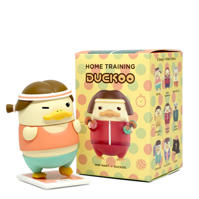 pop mart blind box duckoo home training urban attitude