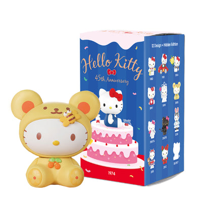 pop mart blind box hello kitty 45 anniversary urban attitude