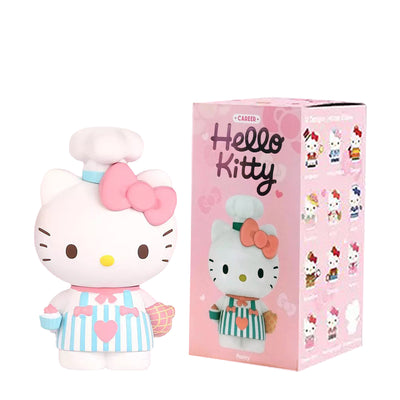pop mart blind box hello kitty career urban attitude