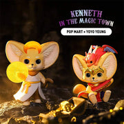 pop mart blind box kenneth in magic town urban attitude