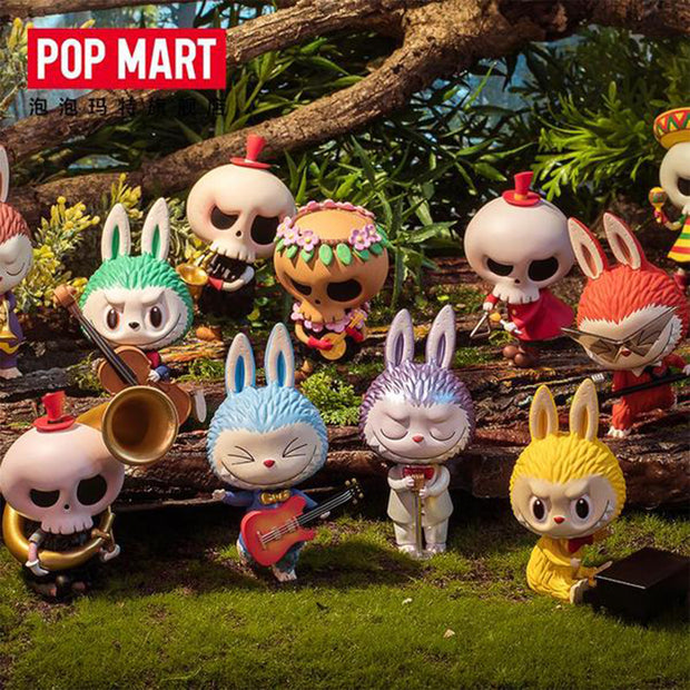 pop mart blind box labubu monsters forest concert urban attitude