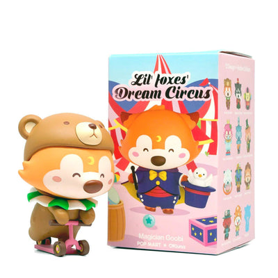 pop mart blind box lil foxes dream circus urban attitude