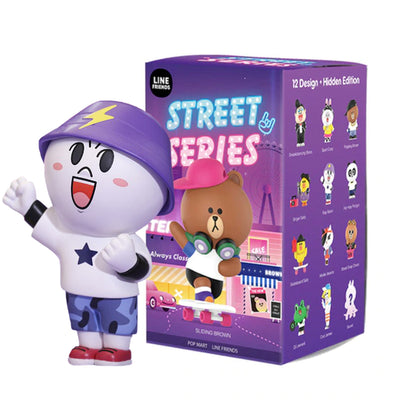 pop mart blind box line friends street series urban attitude
