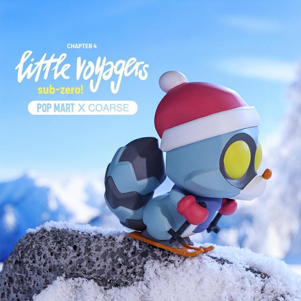 pop mart blind box little voyagers sub zero urban attitude
