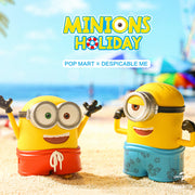 pop mart blind box minions holiday urban attitude