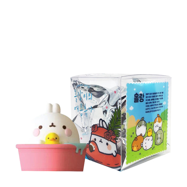 pop mart blind box molang summer special urban attitude