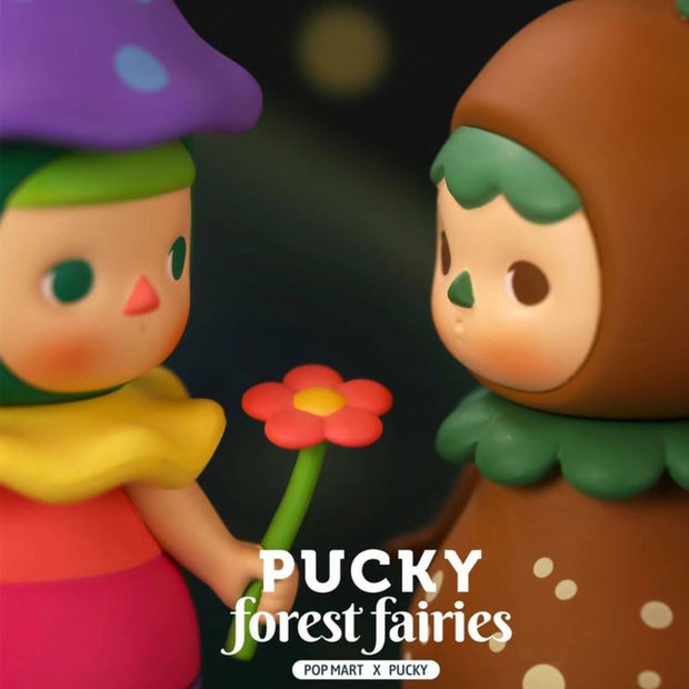 pop mart blind box pucky forest fairies urban attitude