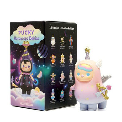 pop mart blind box pucky horoscope babies zodiac series urban attitude