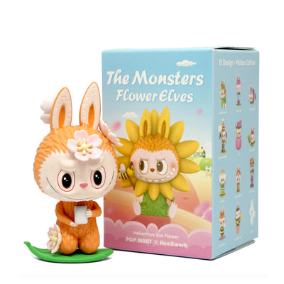 pop mart blind box monster flower elves urban attitude