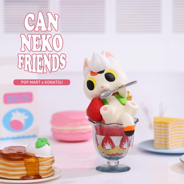 Pop Mart x Konatsu Can Neko Friends Blind Box Sweet Series
