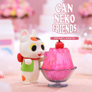 pop mart blind box can neko friends sweet urban attitude
