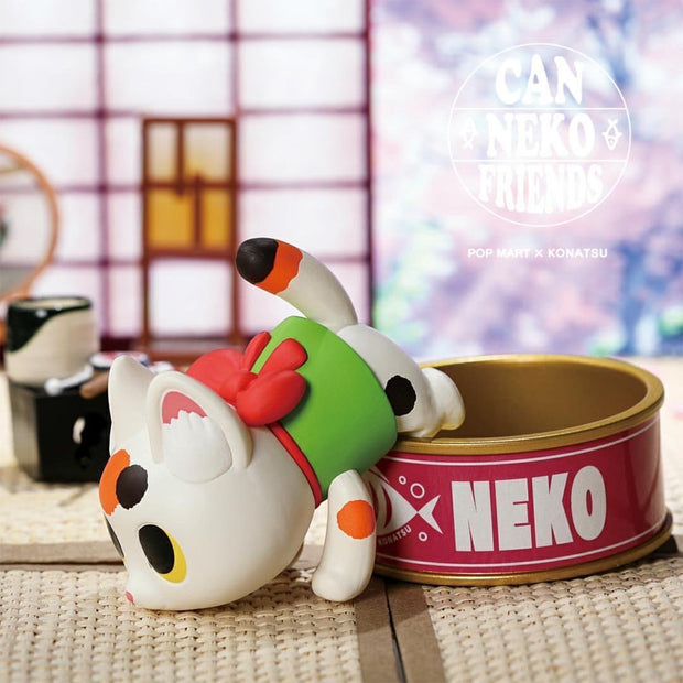 Pop Mart x Konatsu Blind Box Can Neko Cat Friends