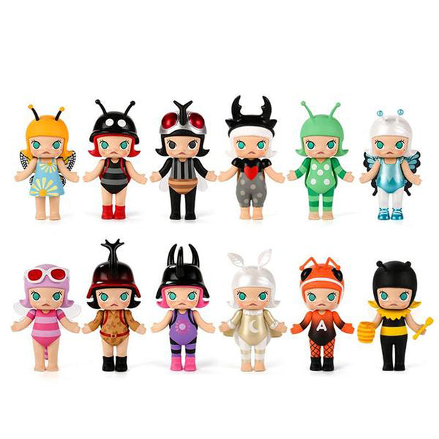Pop Mart x Kennyswork Molly Blind Box Bugs Series