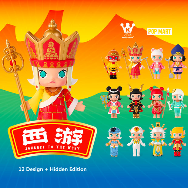 Pop Mart x Kennyswork Molly Blind Box Journey to the West Series