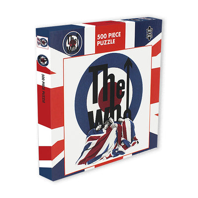 rock saws 500 piece puzzle the who the kids are alright packaging urban attitude