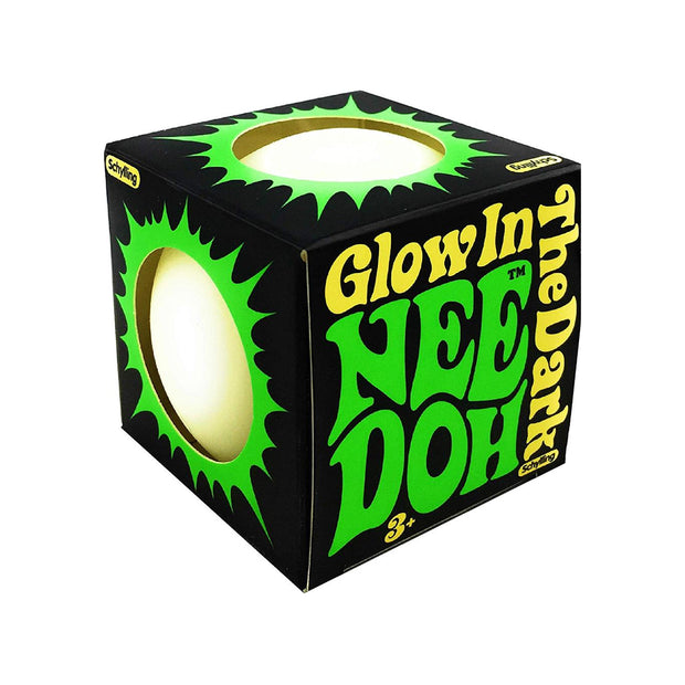 Schylling Glow in the Dark Nee-Doh Stress Ball Urban Attitude