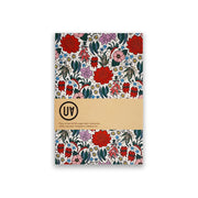 Softcover Notebook Floral Emblems Urban Attitude