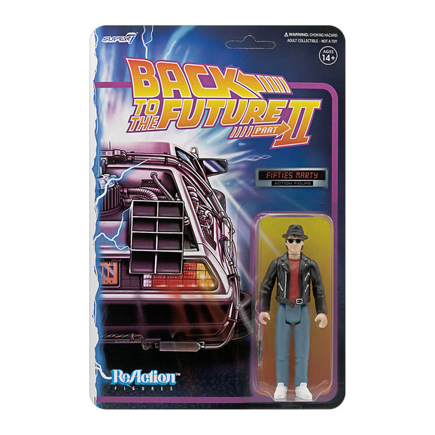super7 back to the future 2 reaction figure wave 1 marty mcfly 1950s urban attitude