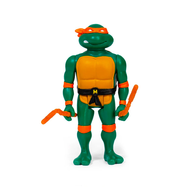 Super7 Teenage Mutant Ninja Turtles ReAction Figure Only  - Michelangelo Urban Attitude