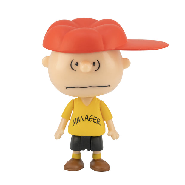 super7 peanuts reaction figure charlie brown manager urban attitude