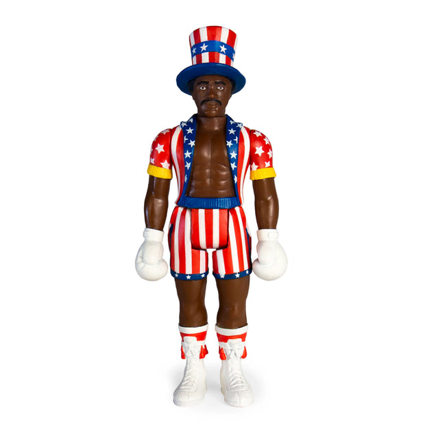 Super7 Rocky Reaction Figure Apollo Creed Urban Attitude