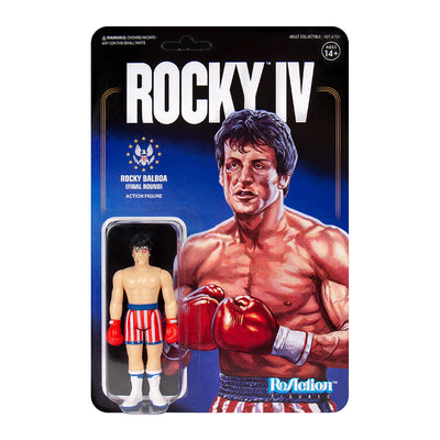 Super7 Rocky Reaction Figure Beat Up Urban Attitude