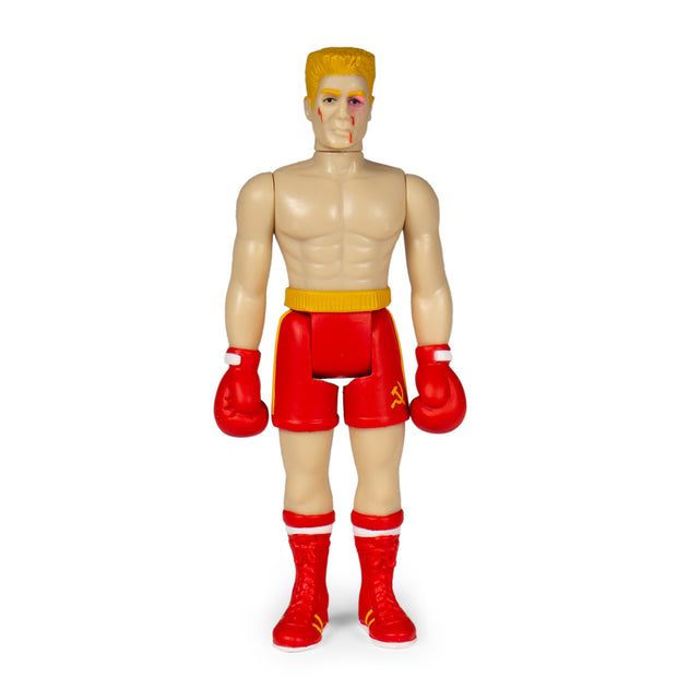 Super7 Rocky Reaction Figure Ivan Drago Beat Up  Urban Attitude
