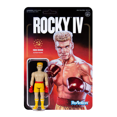 Super7 Rocky Reaction Figure Ivan Drago Urban Attitude