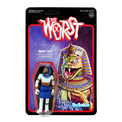 super7 the worst reaction figure snake tut wide release color urban attitude