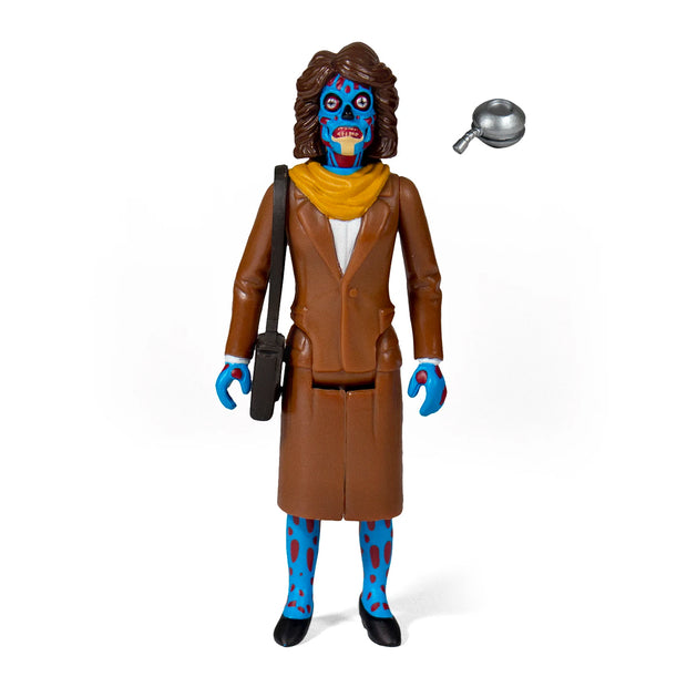 Super7 They Live ReAction Figure - Female Ghoul Urban Attitude