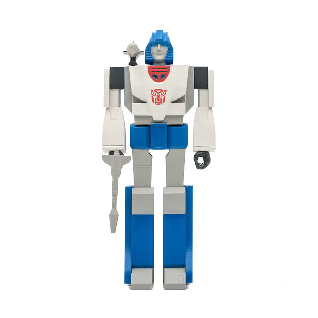 super7 transformers reaction figure wave 2 mirage urban attitude