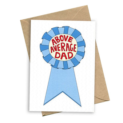 things by bean card above average dad urban attitude