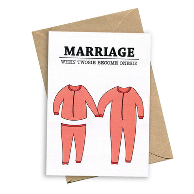 things by bean card marriage when twosie become onesie urban attitude