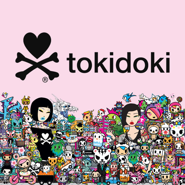 tokidoki denim tote bag girls urban attitude