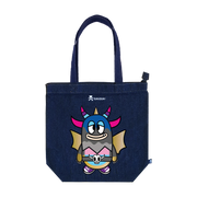 tokidoki denim tote bag dragon urban attitude