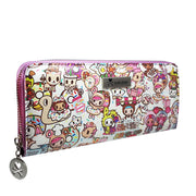 tokidoki long purse dough white urban attitude